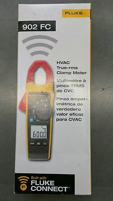 Brand New  Fluke 902 FC True-RMS Wireless HVAC Clamp Meter