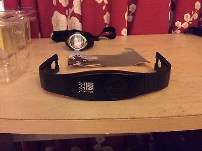 Karrimor Heart Rate Monitor With Chest Strap And Watch