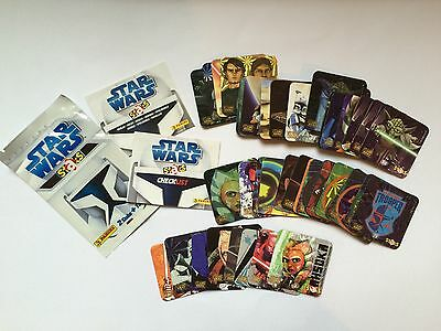Star Wars The Clone Wars Staks Collection - No Duplicates Mint condition