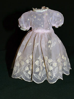 1957 Vintage Original Betsy McCall doll Birthday Party Lily of the Valley DRESS