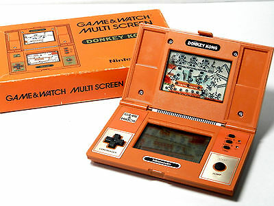 Nintendo Game & Watch Multi Screen Donkey Kong DK-52 Boxed MIJ 1982 Free Postage