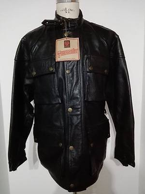 BELSTAFF TOURMASTER giubbino giacca moto motorcycle pelle jacket coat leather