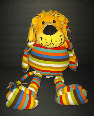 "Melissa & Doug Large 27"" Beeposh Elvis Striped Floppy Lion"