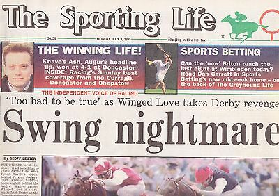 The Sporting Life Newspaper - Monday July 3, 1995