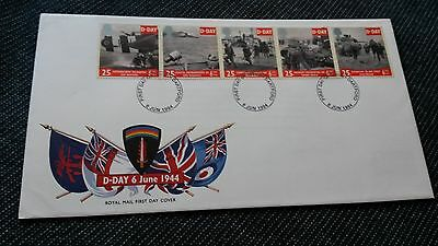 D-Day - Royal Mail First Day Cover - 6 Jun 1994