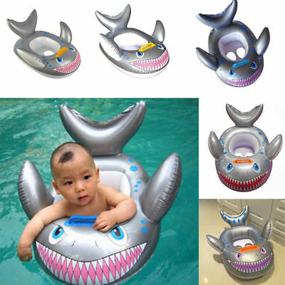 Inflatable Toddler Baby Kids Swimming Pool Swim Sport Toy Float Shark Shape
