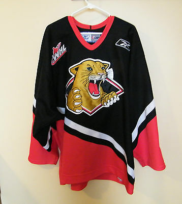Prince George Cougars / Trevor Bauer / Whl   - Game Worn /  Hockey Jersey.