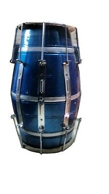 Key Fitted Indian Dholak With Bolts And Bag