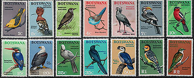 Botswana 1967 SC 19-32 Set NH CV $74.35 - Birds