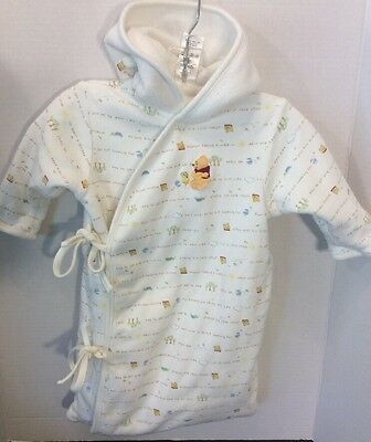 Disney Baby Winnie The Pooh Bunting Snowsuit Infant Size 0-6 Months