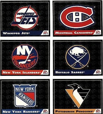 Pittsburgh Penguins, Rare Nhl  'logo/team Facts' '94 Ea Sports Game Card.
