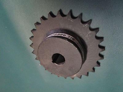 """Martin Sprocket 50BS26 7/8, 50 Chain, 26 Teeth, 7/8"""" Finished Bore Sprocket"""