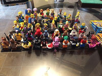 Lego Simpsons Minifigures 1 & 2 Batman Movie Complete Set 71005 71009 71017