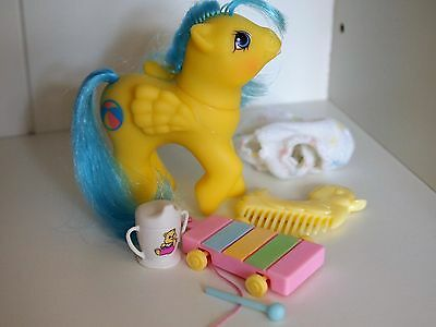 My Little Pony Baby Bouncy with Accessories Sippy Cup Xylophone Excellent