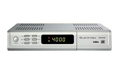 ClearView HD1027IR HD Digital Satellite Receiver with Licensed Irdeto card slot