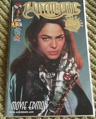 Witchblade 1 ( movie) Gold foil with COA
