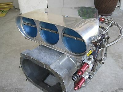 Enderle Birdcatcher Alky supercharger Blower hemi dragster funny car 6-71