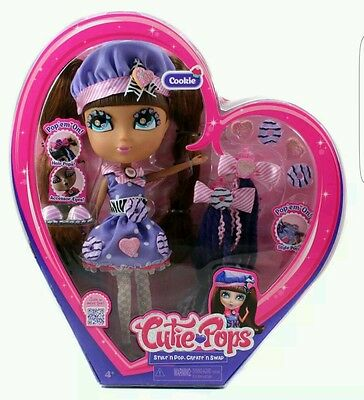 Cutie Pops / Cookie Fashion Doll / Nice Gift Idea / New Sealed Rare Retired