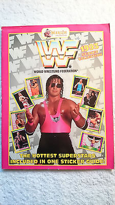 WWF Superstars 1993 Sticker album ( FULLY COMPLETED) Rare