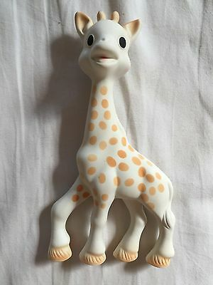 Sophie giraffe baby squeaky toy