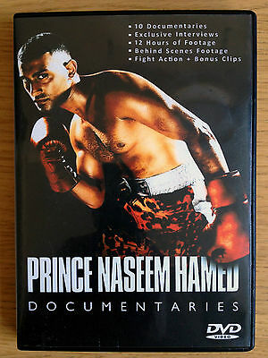 Prince Naseem Hamed - Documentary & TV Specials Collection - DVD set