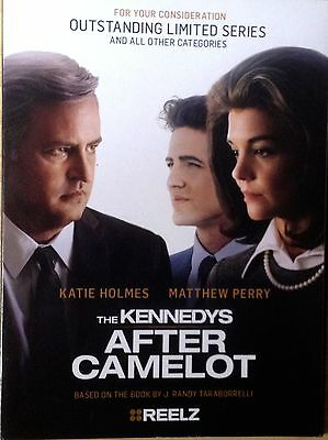 The Kennedys After Camelot 2017 REELZ Katie Holmes FYC EMMY AWARD VIEWER 2 DVD