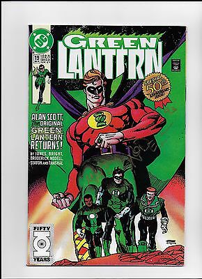 Green Lantern #19 (Dec 1991, DC) Signed by Creator Martin Nodell 50thAnniversary