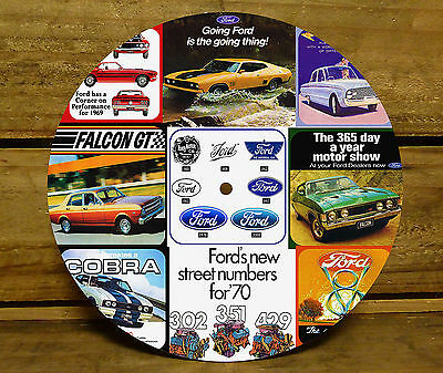 190Mm Clock Face - Ford
