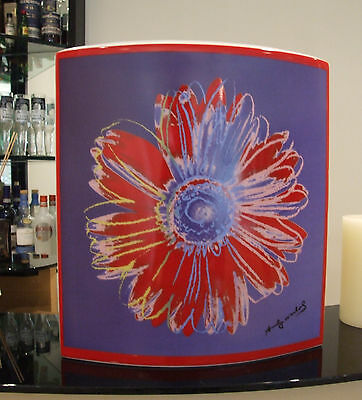 Amazing Rosenthal Studio Line Rare Andy Warhol Signature Vase Dual Colourway FAB