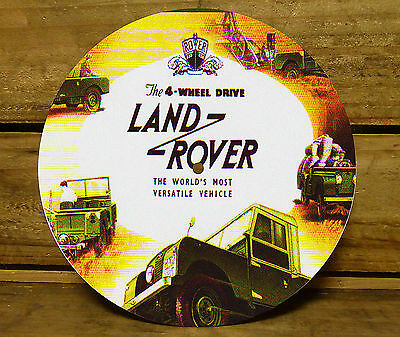 190MM x 5MM MDF CLOCK FACE - LAND ROVER