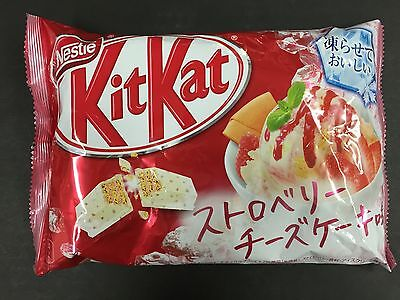 Limited Kit Kat Strawberry Cheese Cake Cakes Chocolates KitKat 13 Pieces Pack