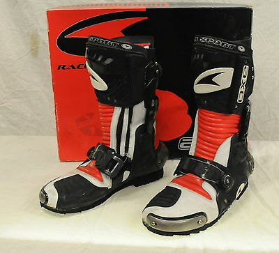 Racing Boots AXO Lancer - Mens Size 45 Euro, 10.5 US - Motorcycle/Motorbike