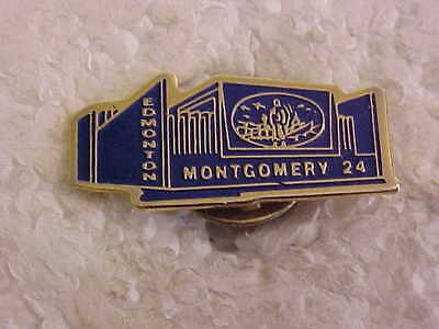 Edmonton Montgomery Royal Canadian Legion  Branch 24 Lapel Pin