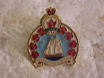 Nova Scotia Command Canadian Legion  Lapel Pin