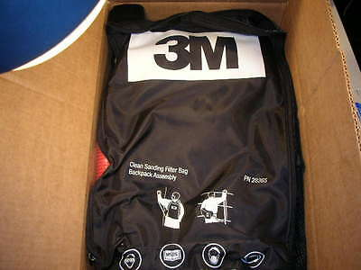 3M 28365 CLEAN SANDING FILTER BAG BACKPACK ASSEMBLY New in Box!!