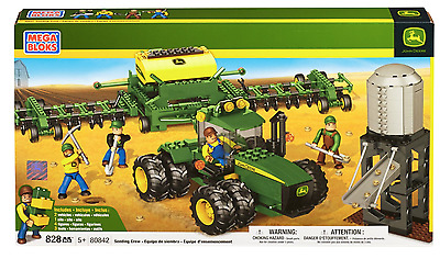 John Deere Seeding Crew - Mega Bloks Set 80842 - 828 pieces