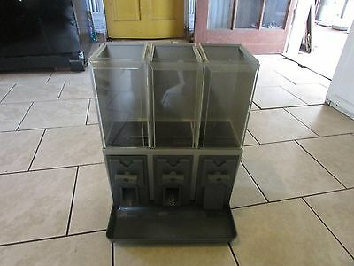 3- Vendstar Canisters  3000 CANDY VENDING MACHINE & PARTS
