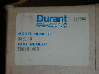 Eaton Corp. Durant Model 5881-0 Digit Totalizer 58811-400 58811400 New in Box