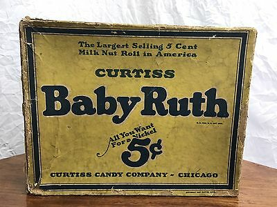 Curtiss 1925 Baby Ruth All You Want For a Nickel 5 Cent Box Twenty Four Candy Ba