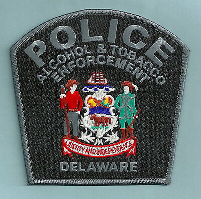 Delaware Alcohol & Tobacco Enforcement Police Patch