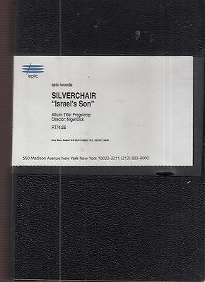 silverchair israel's son video vhs