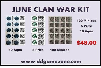 June Munzee Clan War Kit