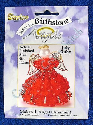Angel Birthstone Bead Kit #07 ~ July / Ruby