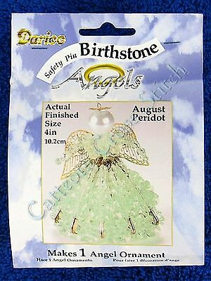 Angel Birthstone Bead Kit #08 ~ August / Peridot