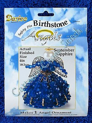 Angel Birthstone Bead Kit #09 ~ September / Sapphire