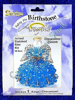 Angel Birthstone Bead Kit #12 ~ December / Zircon