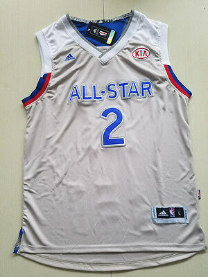 New All-star Cleveland Cavaliers No.2 Kyrie Irving Basketball Jersey
