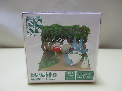 Miniatuart Paper Craft Miniature My Neighbor Totoro Secret Tunnel Studio Ghibli
