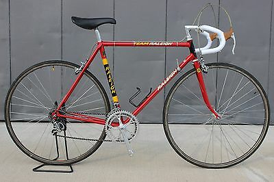 Raleigh Ti Team Campagnolo Super Record 3ttt 53cm ctc Reynolds 531 Worksop 1978