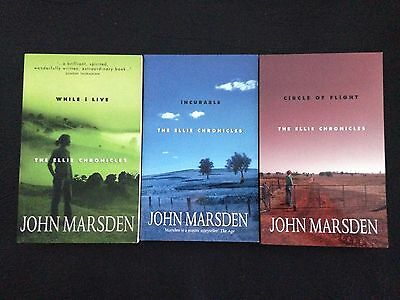 THE ELLIE CHRONICLES 1-3 John Marsden - Follow on to Tomorrow when the war began